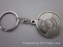 专业生产万年历钥匙扣