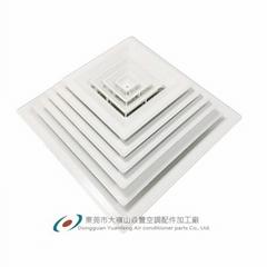 ABS塑鋼方形散流器