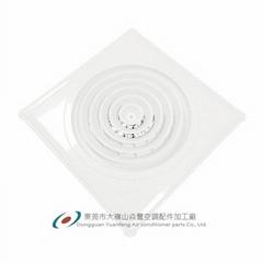 廠價直銷ABS塑鋼風口(方形內圓旋轉式出風口)