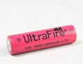 UltraFire 3 7V 2600mAh 18650 XSL