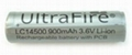 UltraFire 14500 Protected Li-ion Rechargeable Battery  2