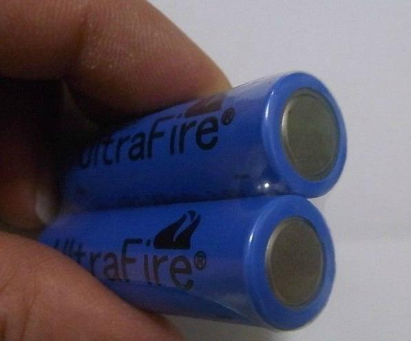 UltraFire 14500 AA sized 3.6V Li-Ion Rechargeable Battery 900 mAh 3