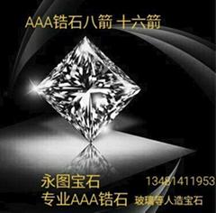 AAA高品质锆石 莫桑石