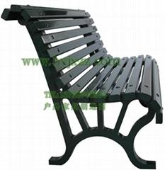 實木公園椅