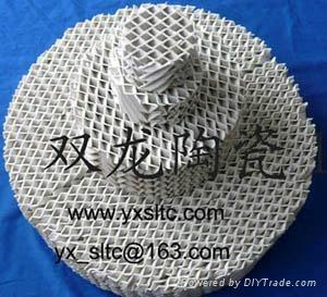 陶瓷波紋填料 1
