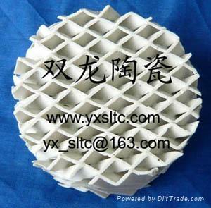 陶瓷波紋填料 4