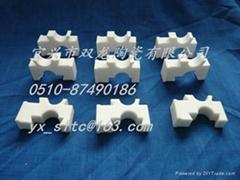 Alumina insulating ceramics