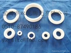 Insulating ceramics ring