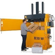 B30W 直立式油压缸打包机