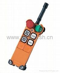 台湾原装工业无线遥控器禹鼎F21-4S