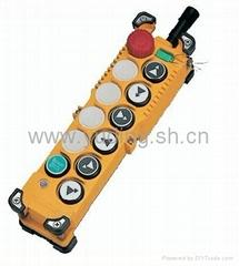 台湾禹鼎上下双速工业无线电遥控器F23-A+