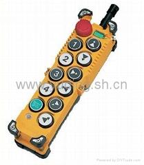 台湾禹鼎天车工业无线遥控器F23-D