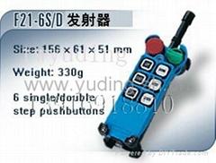 防爆型工业无线遥控器禹鼎BF21-6