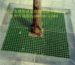 绿色环保玻璃钢树篦子
