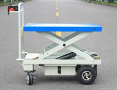 Electric Motorcycle Lift Table with One Scissor (HG-1090)