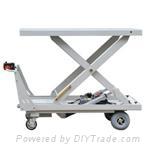 Big Platform Highly Duty Lift Table Truck (HG-1140)