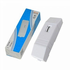 Vibration Detector Wired Window Door Sensor for home security safety alarm