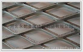 3mm-8mm厚热镀锌平台钢板网 1