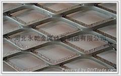 3mm-8mm厚热镀锌平台钢板网