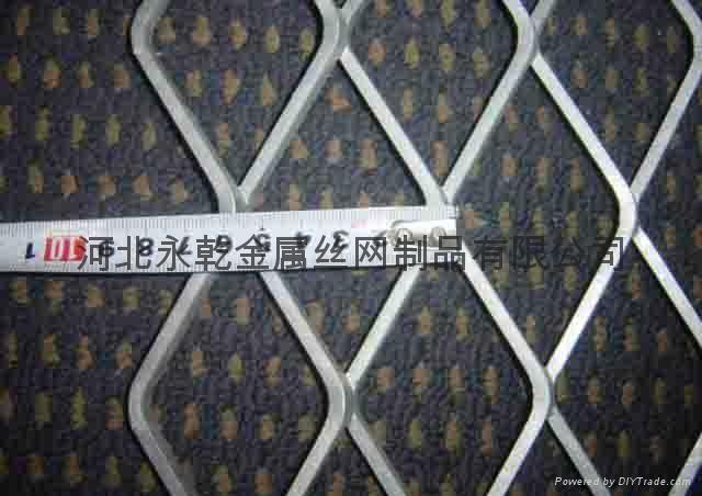 中重型40*80mm孔平台踏步钢板网 2