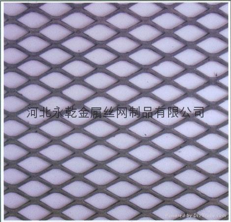中重型40*80mm孔平台踏步钢板网 4