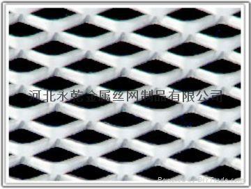 装饰用5*10mm孔小型铝板网 2