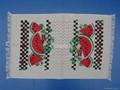 全棉割絨塗料印花茶巾和廚房巾