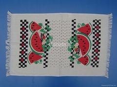 Cotton Printed Velour Ki