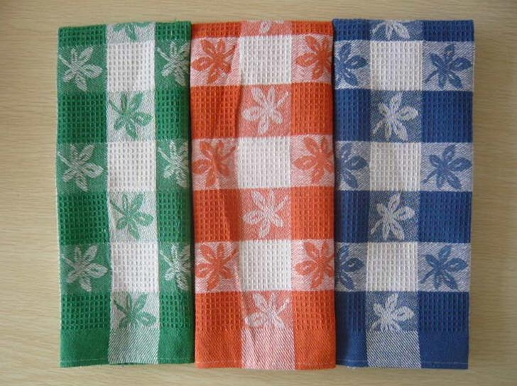 Cotton Waffle Kitchen Tea Towel 5