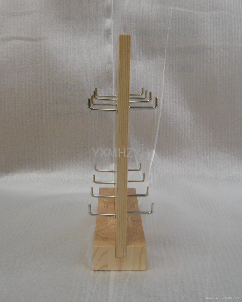 wooden display shelf 1