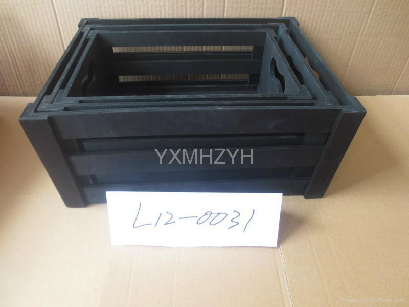 wooden storage box 1