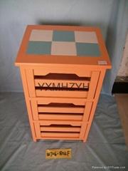 paulownia wood cabinet