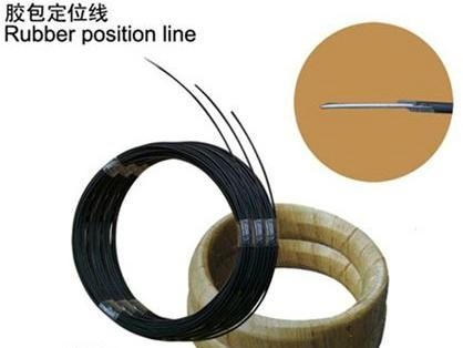 paper covered steel wire for fixing zigzag spring 1