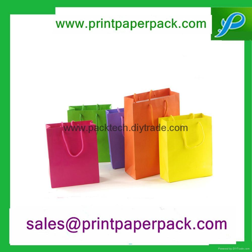 可定製彩印包裝時尚購物禮品手提袋 1