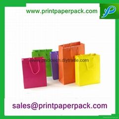 可定製彩印包裝時尚購物禮品手提袋