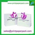 可定製彩印包裝時尚購物禮品手提袋 4