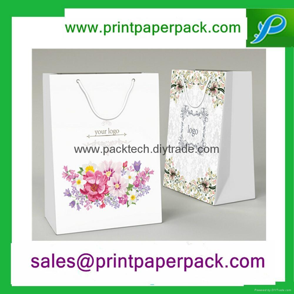 可定製彩印包裝時尚購物禮品手提袋 5