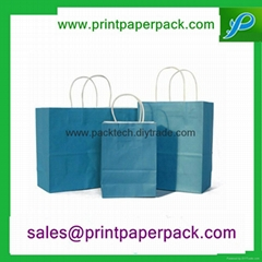 Fashion Luxury Full Color Customized Garment Gift Bag