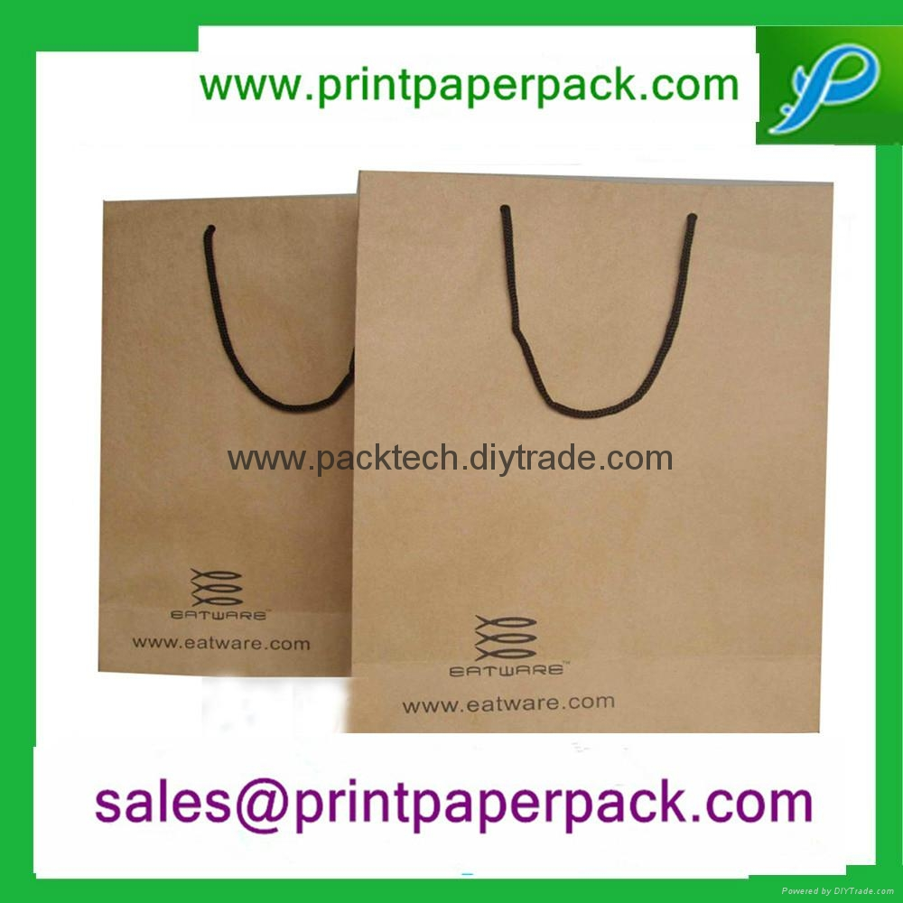 Bespoke Fashion Kraft Paper carrier Bag  5