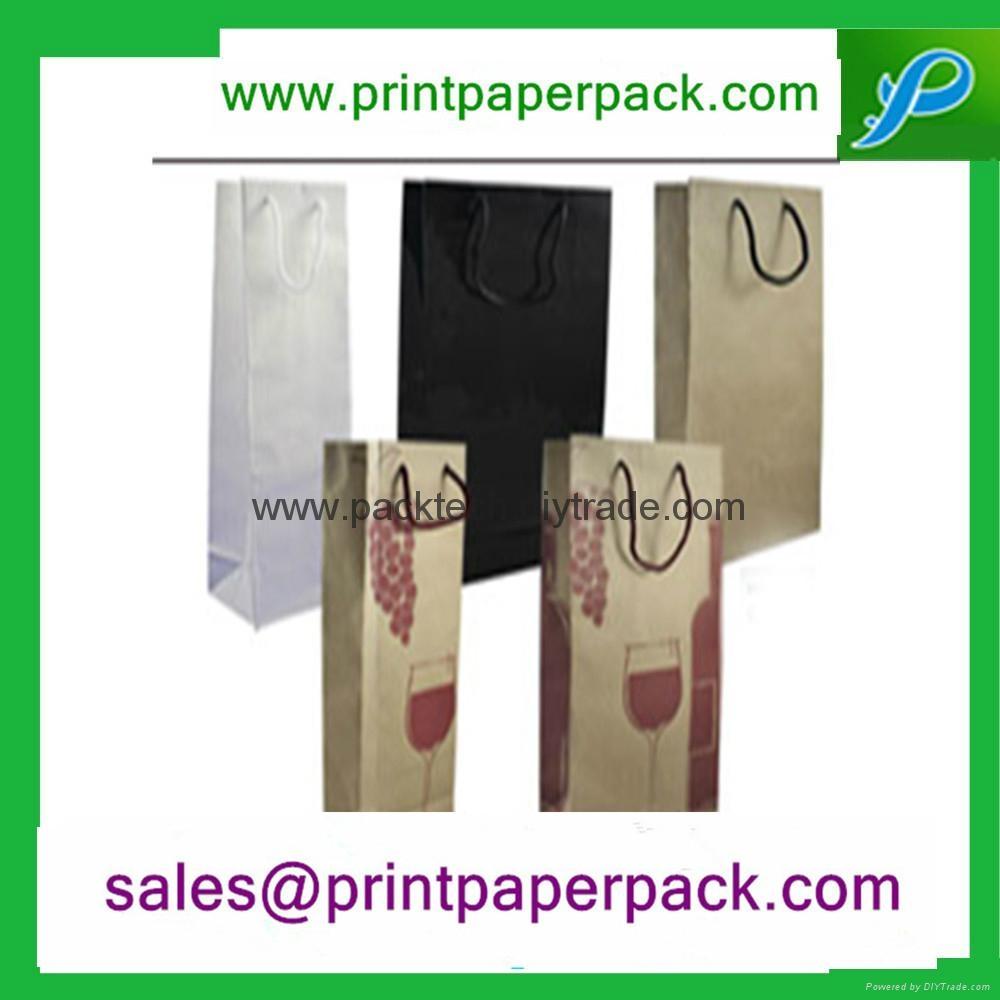 定製時尚牛皮紙手提袋 3