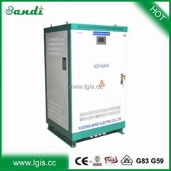 Big power low frequency dc to ac power inverter 60KW