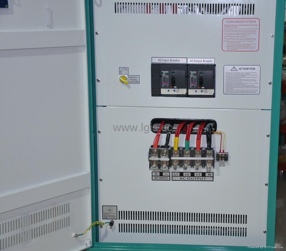 Big power low frequency dc to ac power inverter 60KW 2