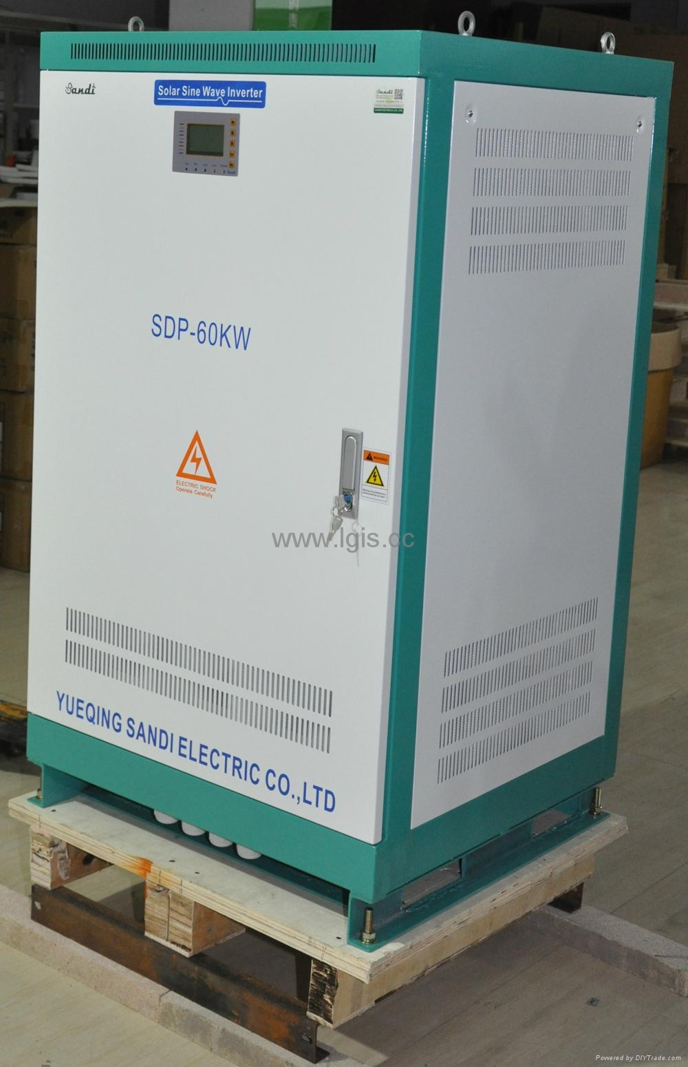 Big power low frequency dc to ac power inverter 60KW 4