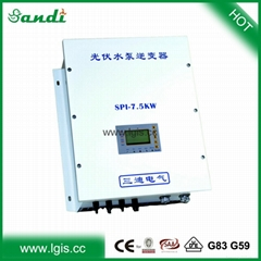MPPT Three phase ac drive solar pump inverter for agriculture irrigation system