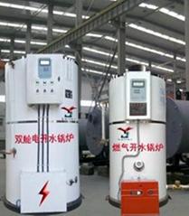 天津2T燃气电开水锅炉