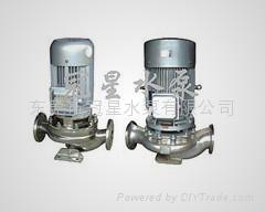 GDF不鏽鋼泵 管道增壓泵 不鏽鋼管道泵  管道離心泵