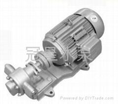齒輪油泵 柴油輸泵 不鏽鋼油泵 原油輸送泵 廣東輸油泵廠家