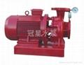 消防稳压泵 增压喷淋泵 冠星牌