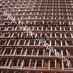 brass welded wire mesh panels