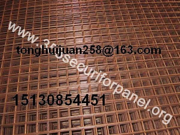 brass welded wire mesh panels 2